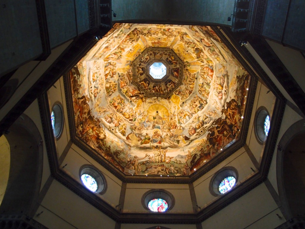 Interior of the dome, Duomo, Florence