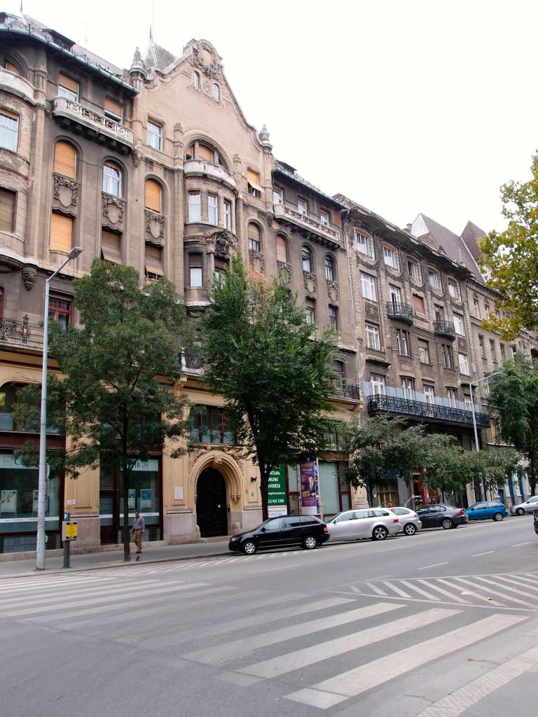 Street view, Budapest