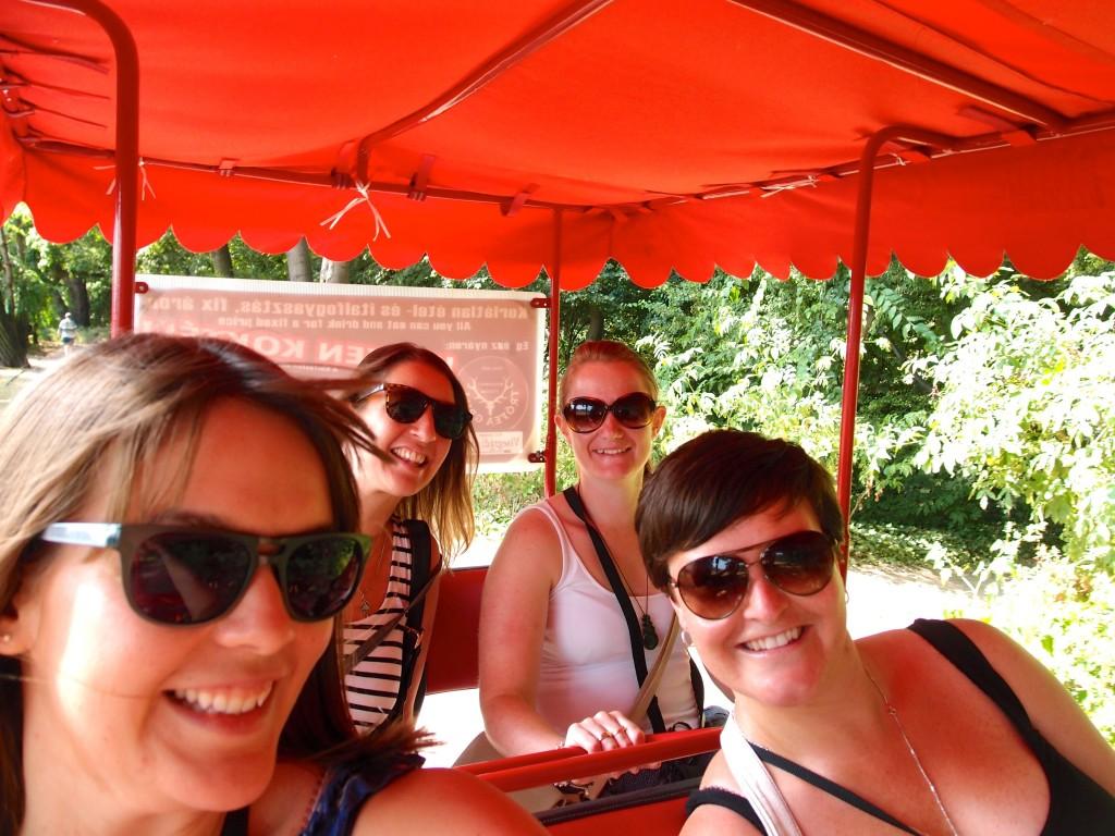 Pedal cart, Margit Island, Budapest