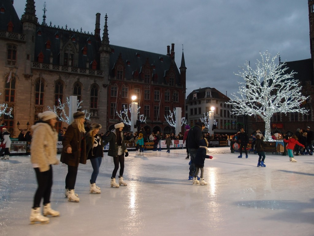 Ice-skating rink, Bruges, Belgium