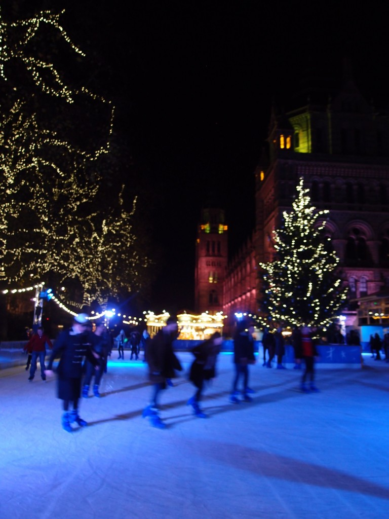 Ice Skating, Natural History Museum, London