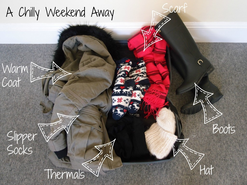 What To Pack For A Chilly Weekend Away