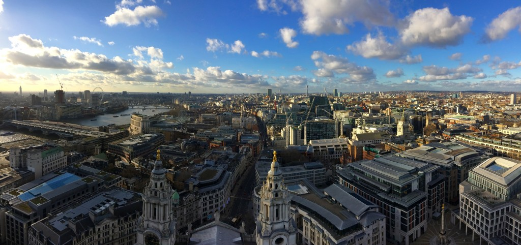 Panorama, St Paul's Cathedral, London