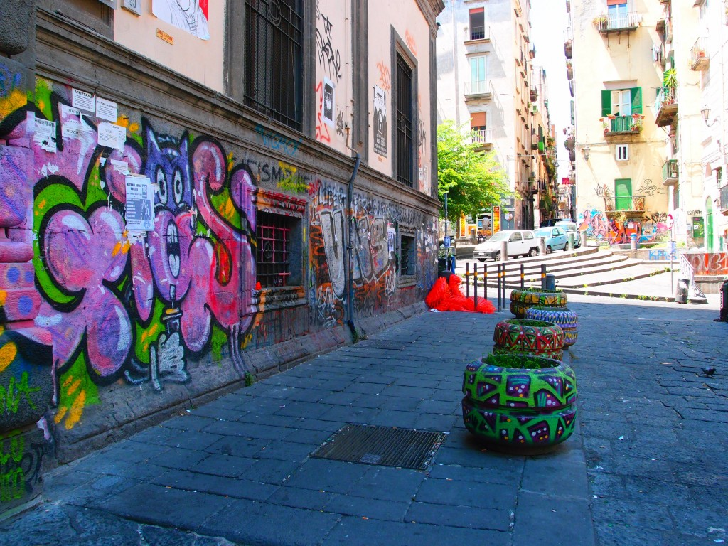 Graffiti, Naples, Italy