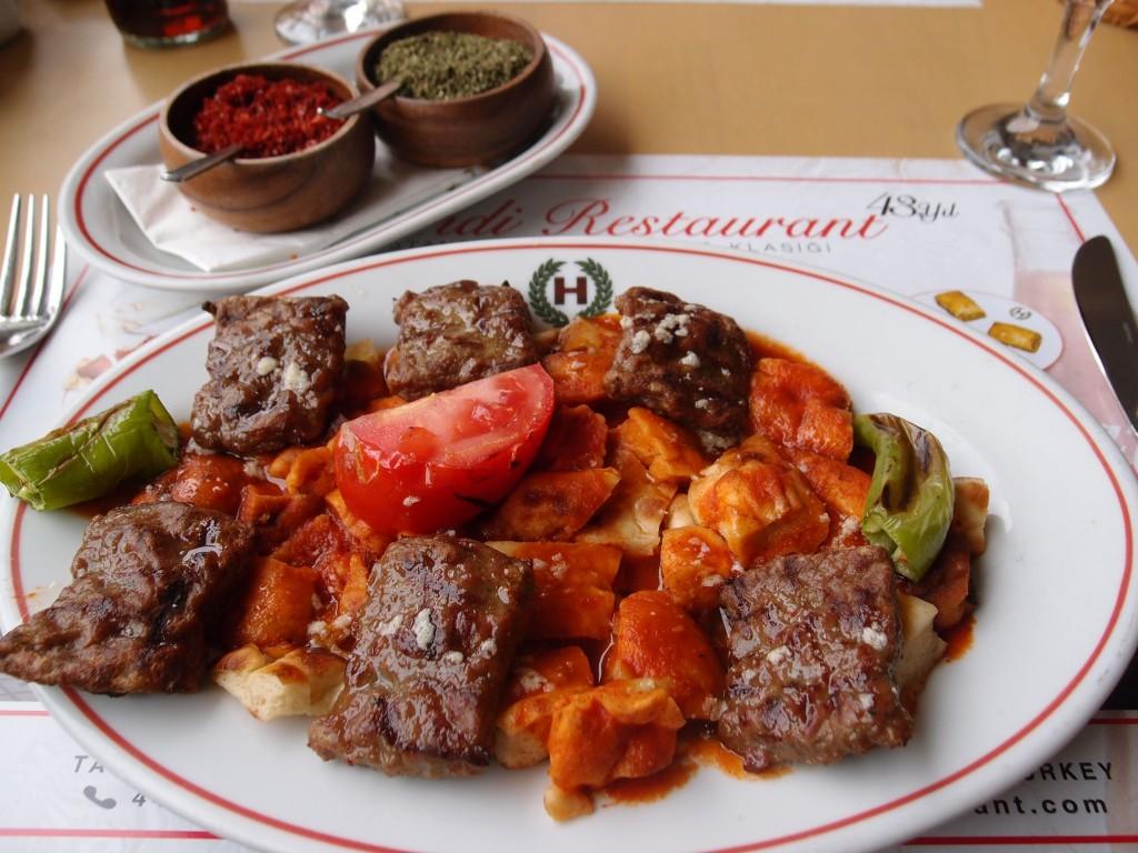 Kebab, Istanbul, Turkey