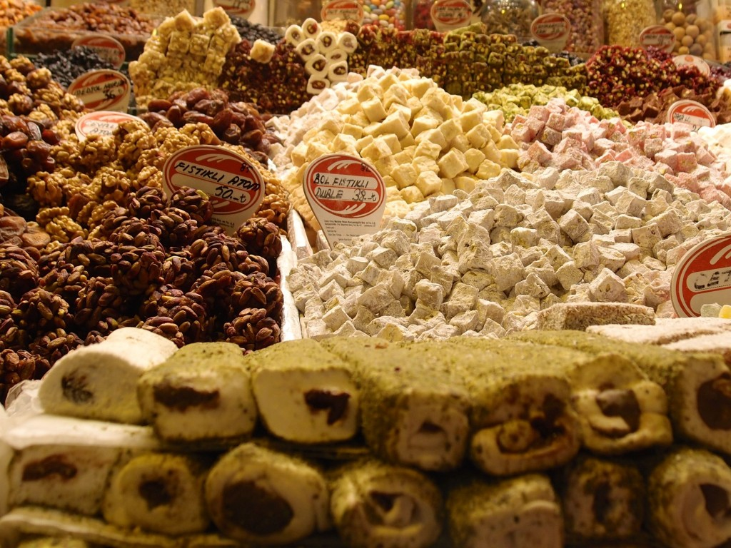 Sweet Treats, Istanbul, Turkey