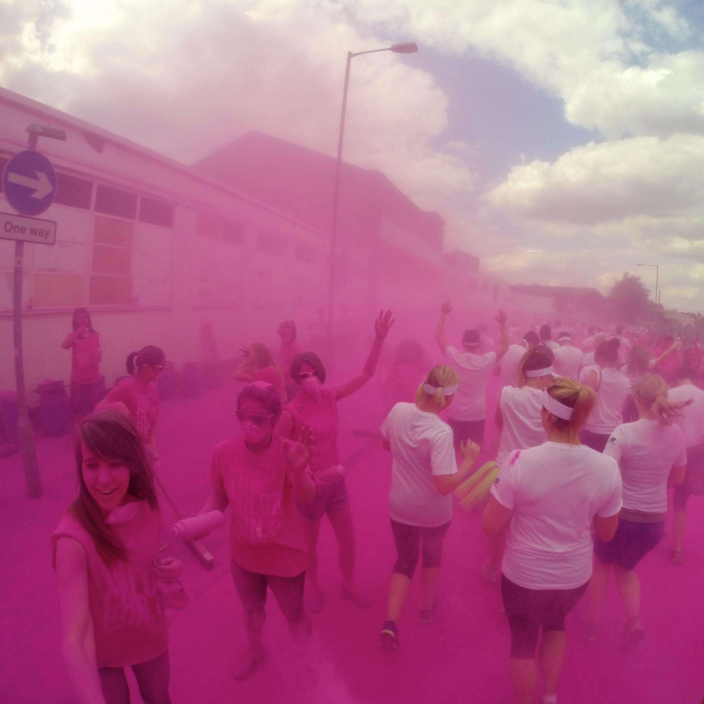 Colour Run, London