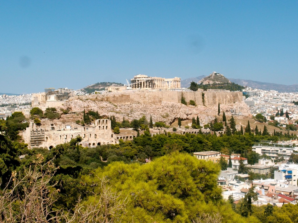 Philopappou Hill, Athens, Greece