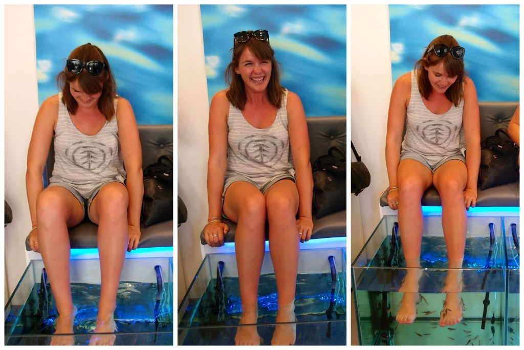 Fish Spa, Athens, Greece