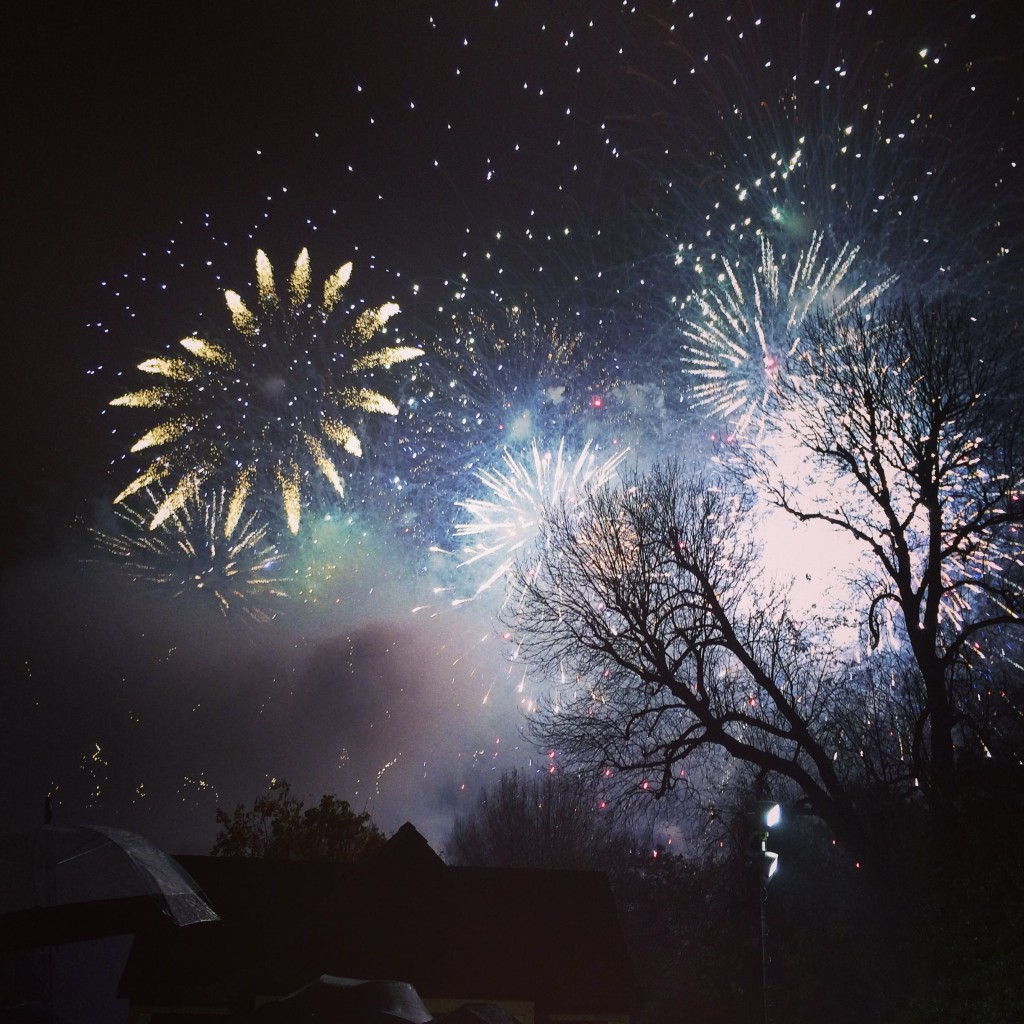 Fireworks, Battersea Park, London, England