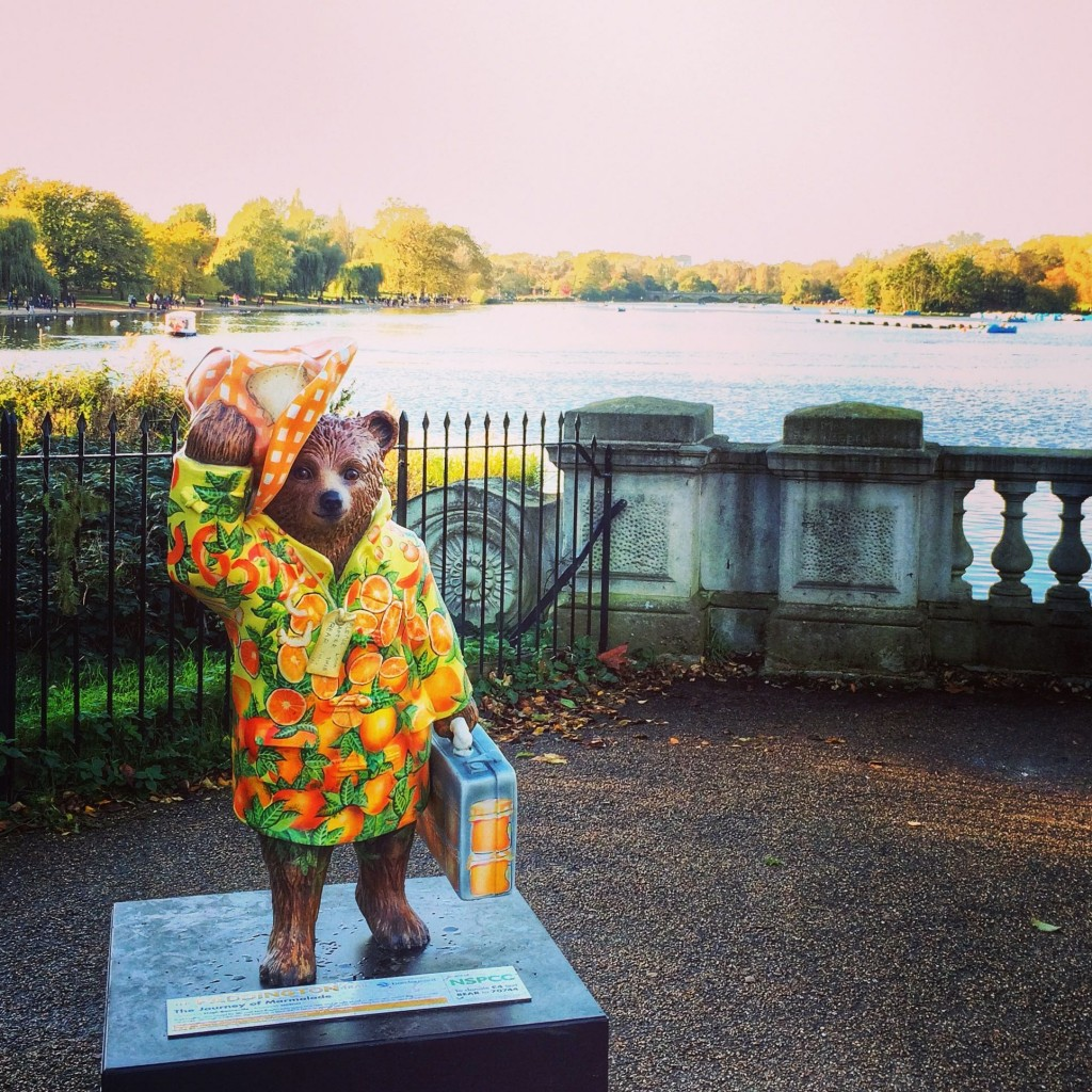 Paddington Bear, Serpentine, London, England