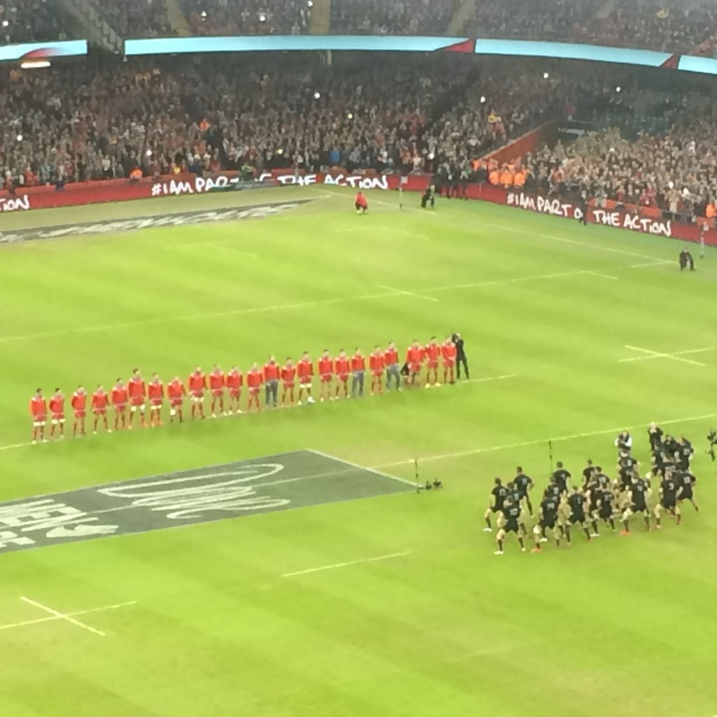 All Blacks v Wales, Cardiff