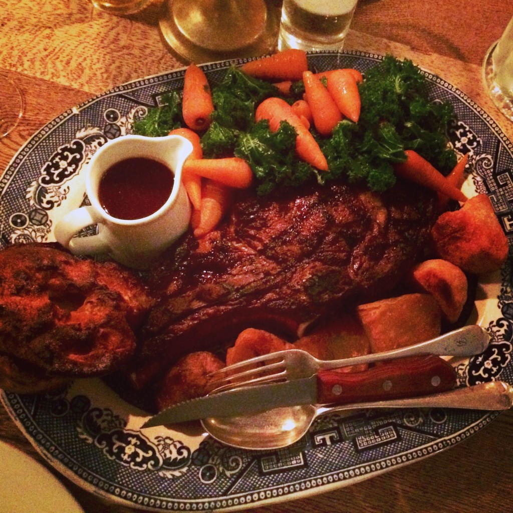 Sunday Roast, Draper's Arms, London