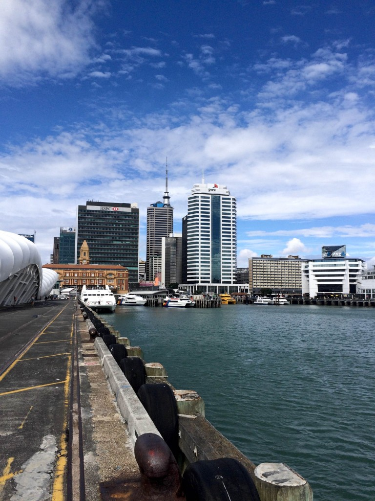 Queens Wharf, Auckland, New Zealand