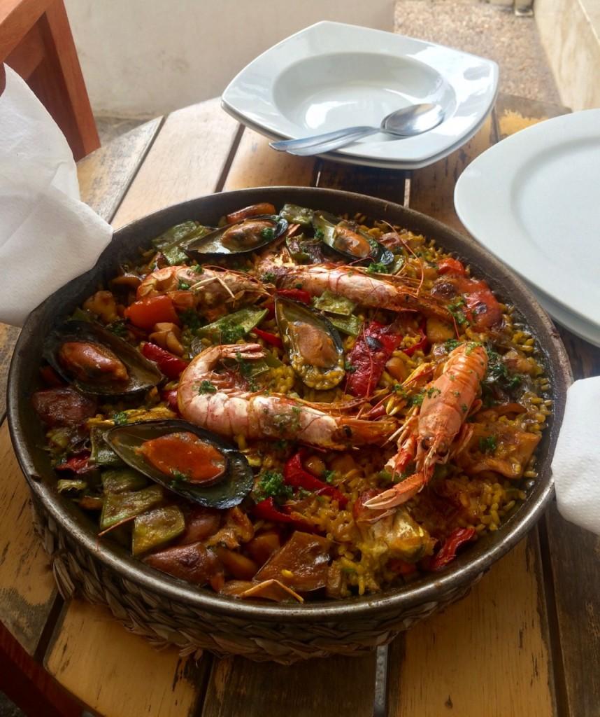 Paella, Mallorca, Spain