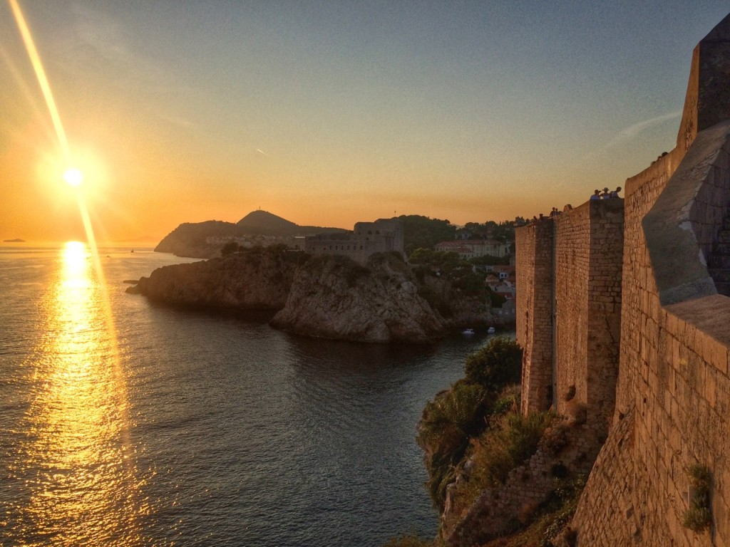 Sunset, Dubrovnik, Croatia