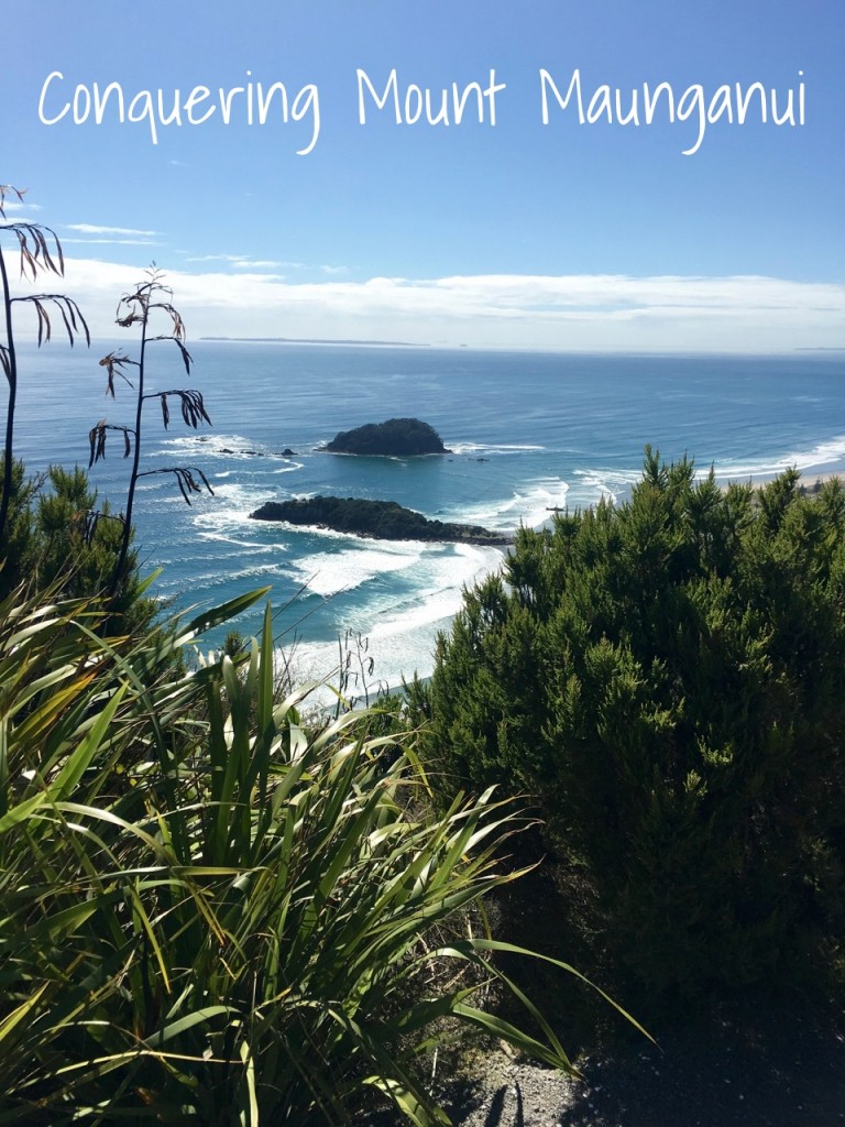 Conquering Mt Maunganui, New Zealand - Two Feet, One World