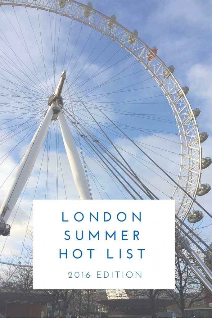 London Summer Hot List 2016 - Two Feet, One World