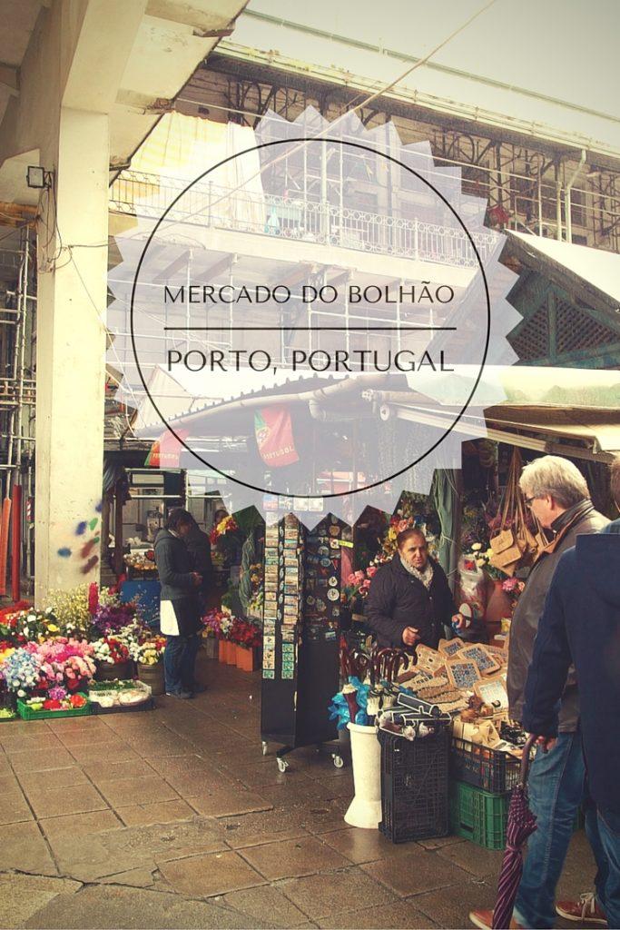 Mercado do Bolhao, Porto, Portugal