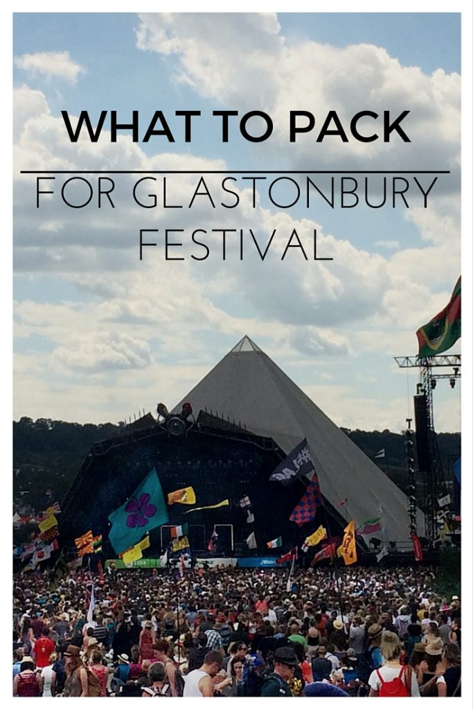 What to Pack for Glastonbury Festival - Two Feet, One World