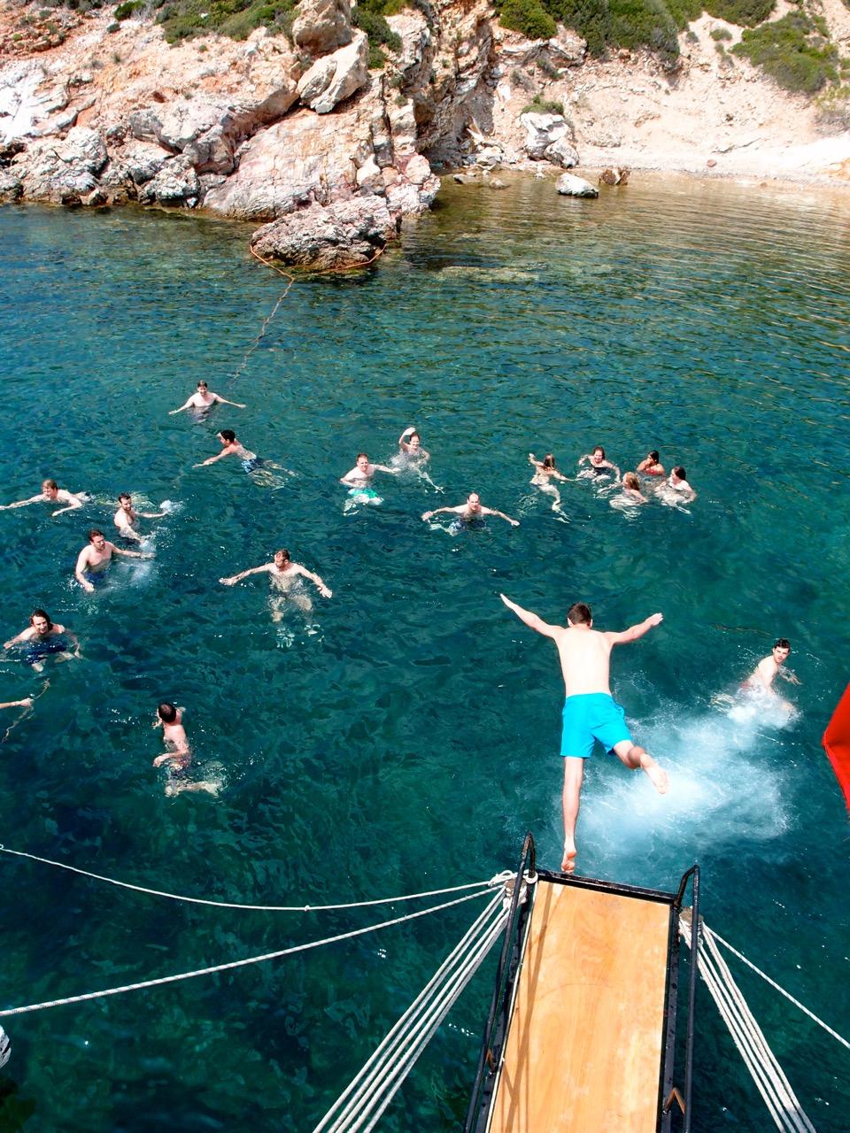 Swim, Turkey