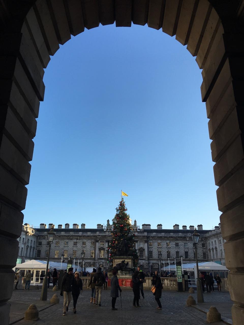 Christmas, Somerset House, London