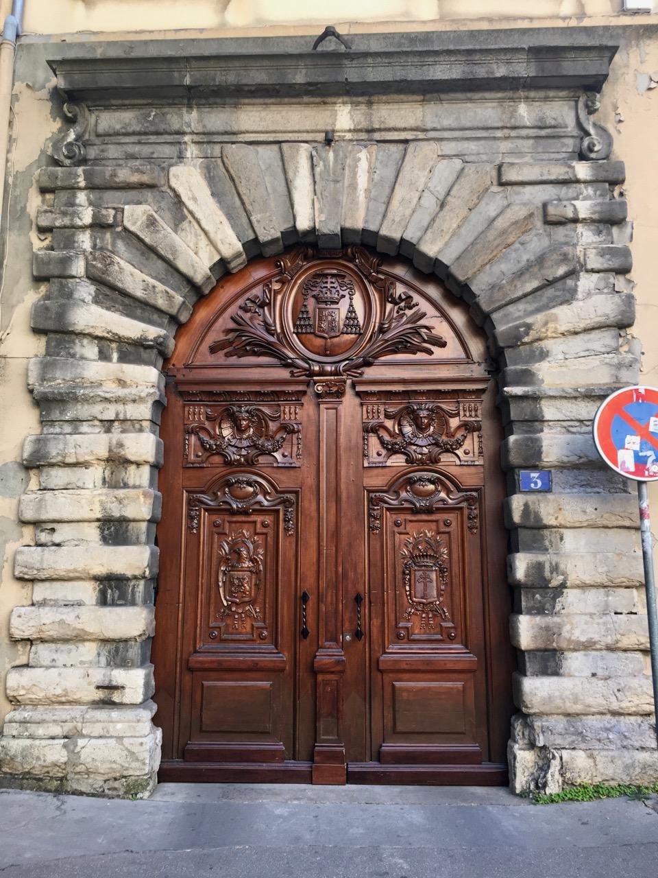 Door, Lyon, France