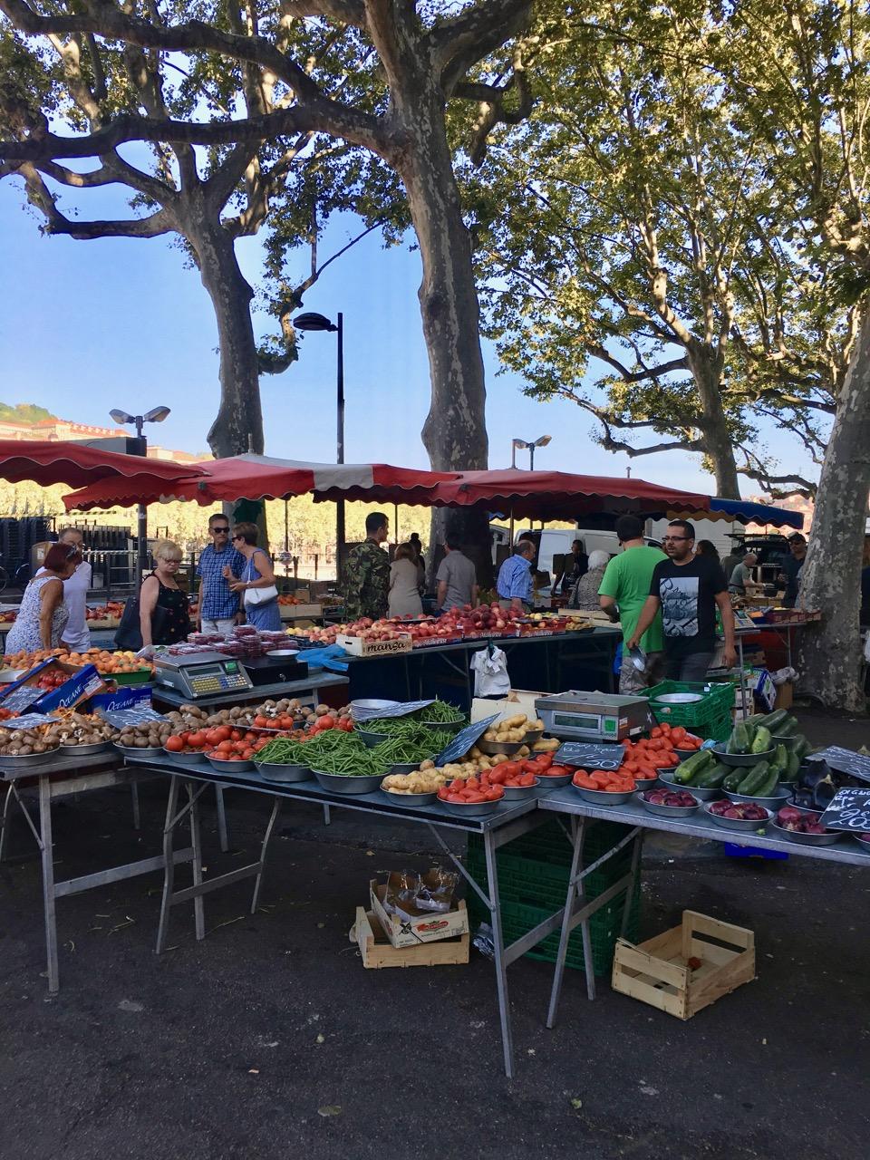 Market, Lyon, France