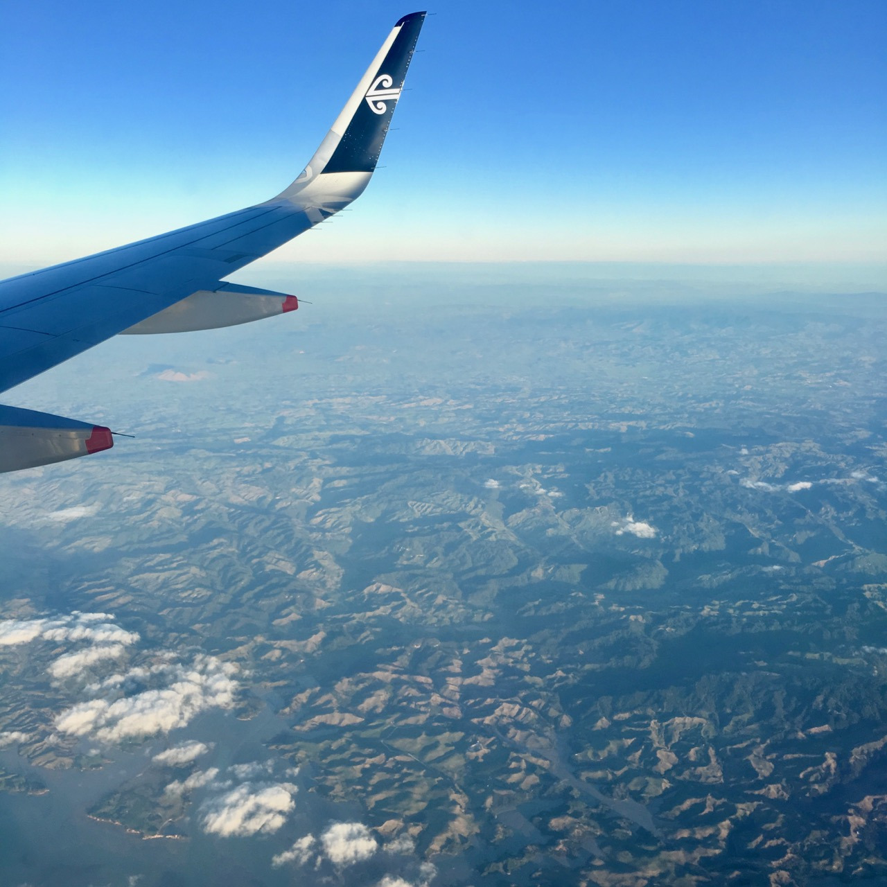Plane, New Zealand