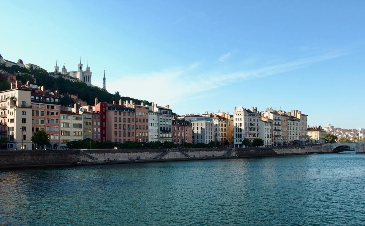 River, Lyon, France
