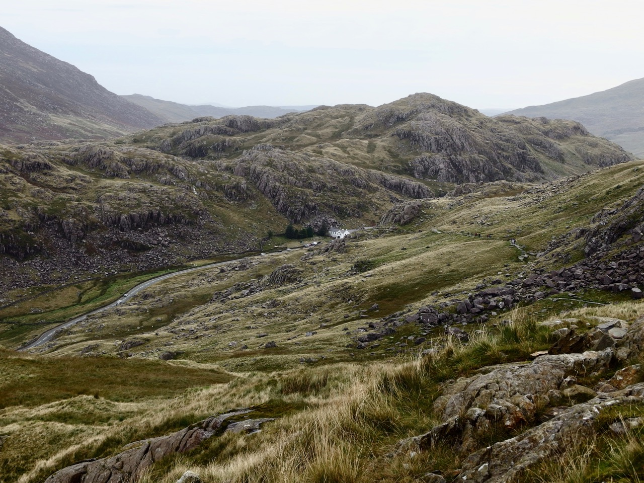Hike, Mount Snowdon, Wales
