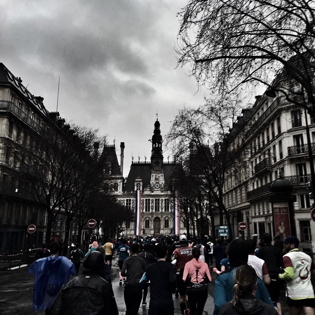 Half marathon, Paris, France