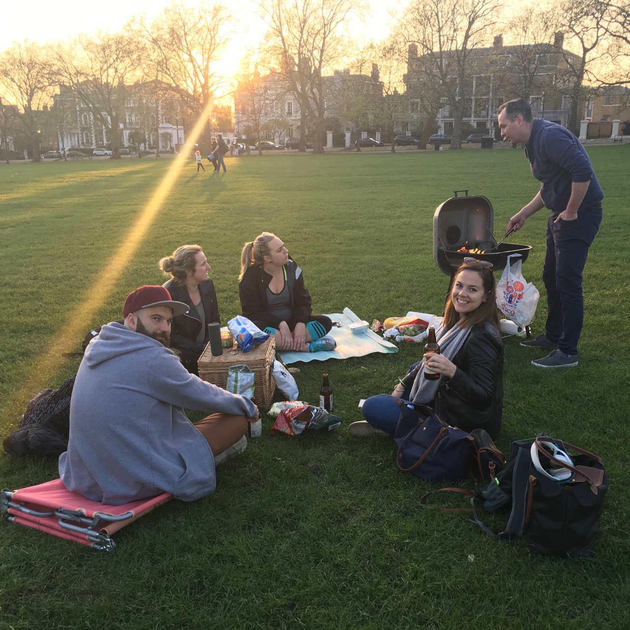 Picnic, Highbury Fields, London