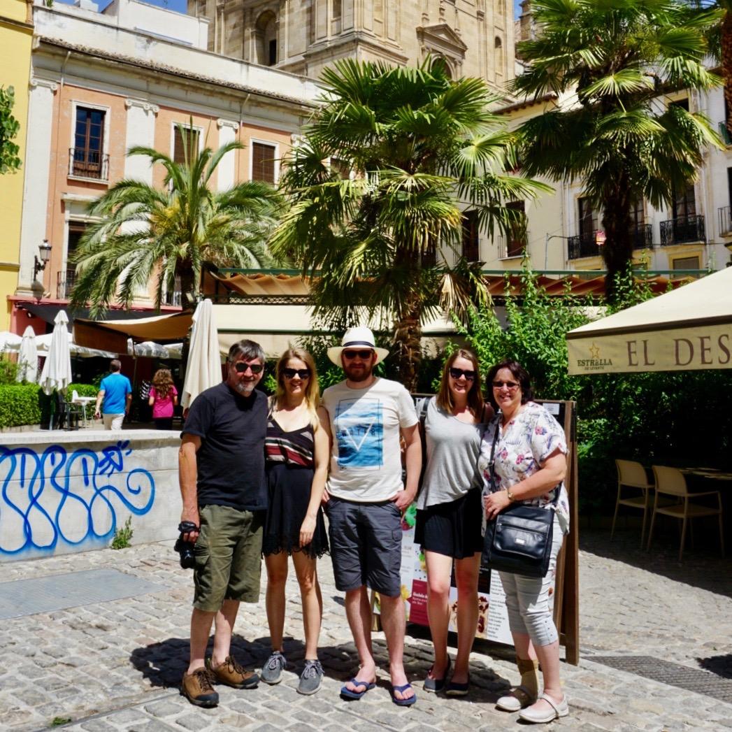 Family, Granada, Spain