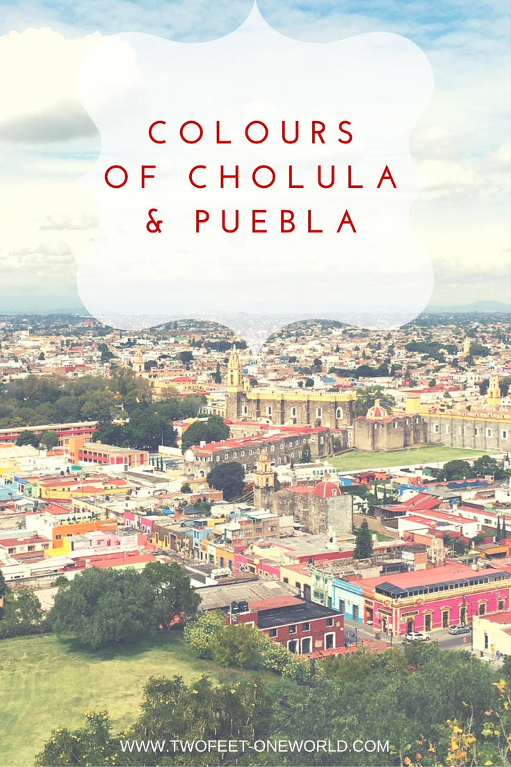 One of the highlights of our Mexico trip were the beautiful colours of Cholula & Puebla | Two Feet, One World