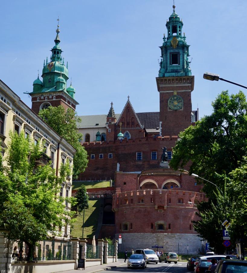 Krakow Castle, Poland