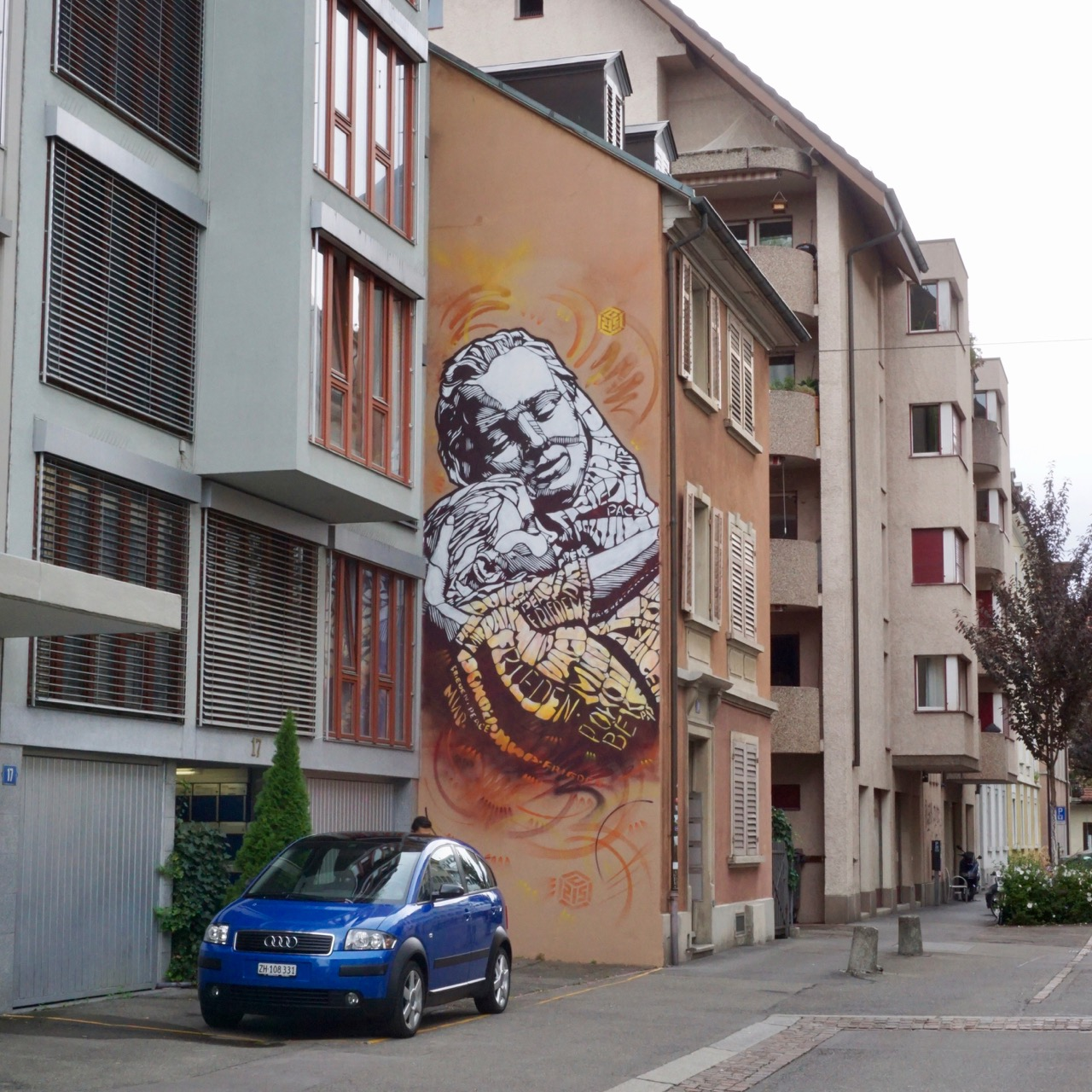 Street, Art, Zurich, Switzerland