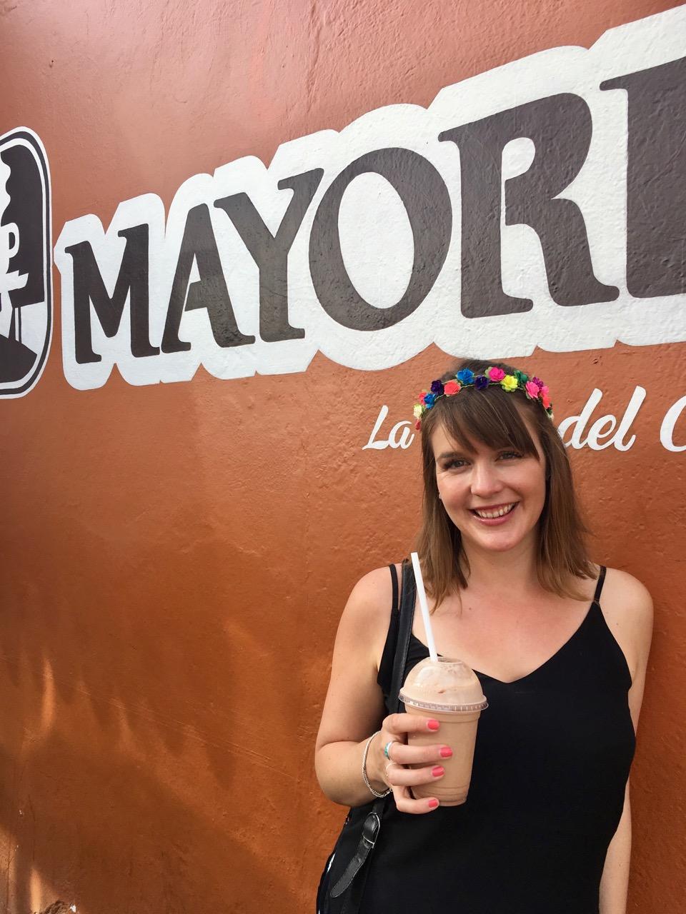 Chocolate Milkshake, Oaxaca, Mexico