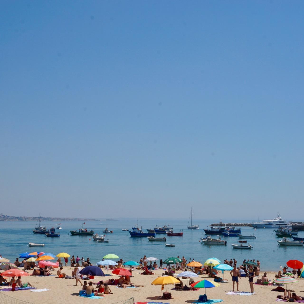 Cascais beach, Lisbon, Portugal