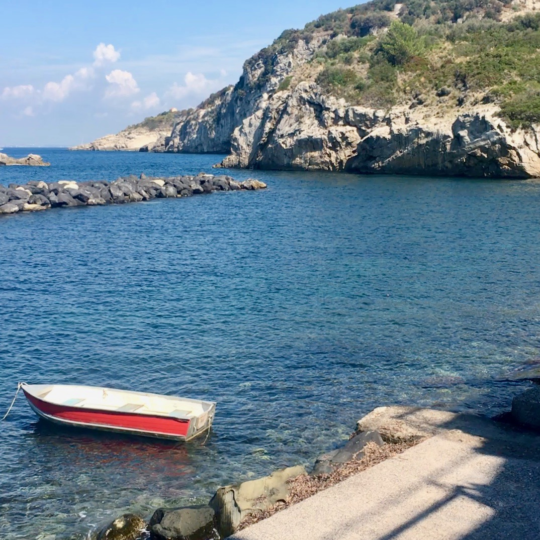 Boat, Massa Lubrense, Italy