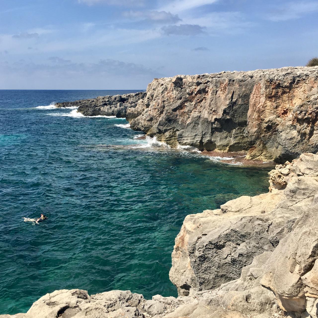 Sea, Menorca, Spain