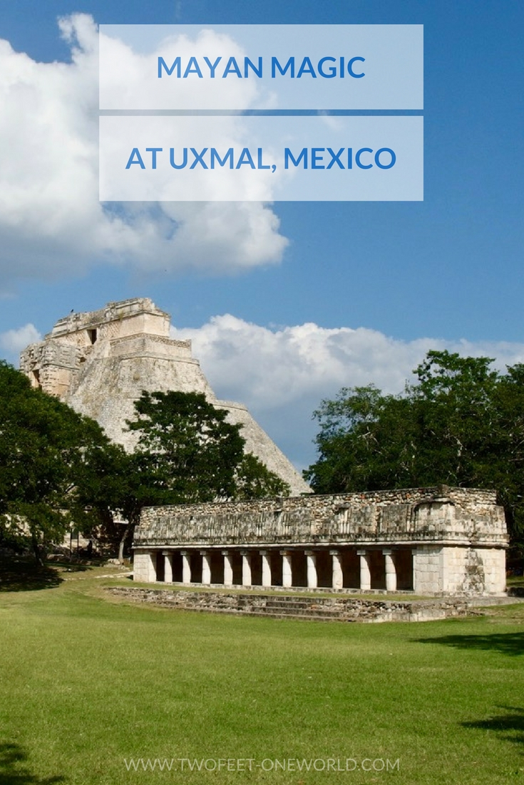 Uxmal's pyramid is unusually beautiful and these lesser-visited ruins are an amazing stop | Two Feet, One World