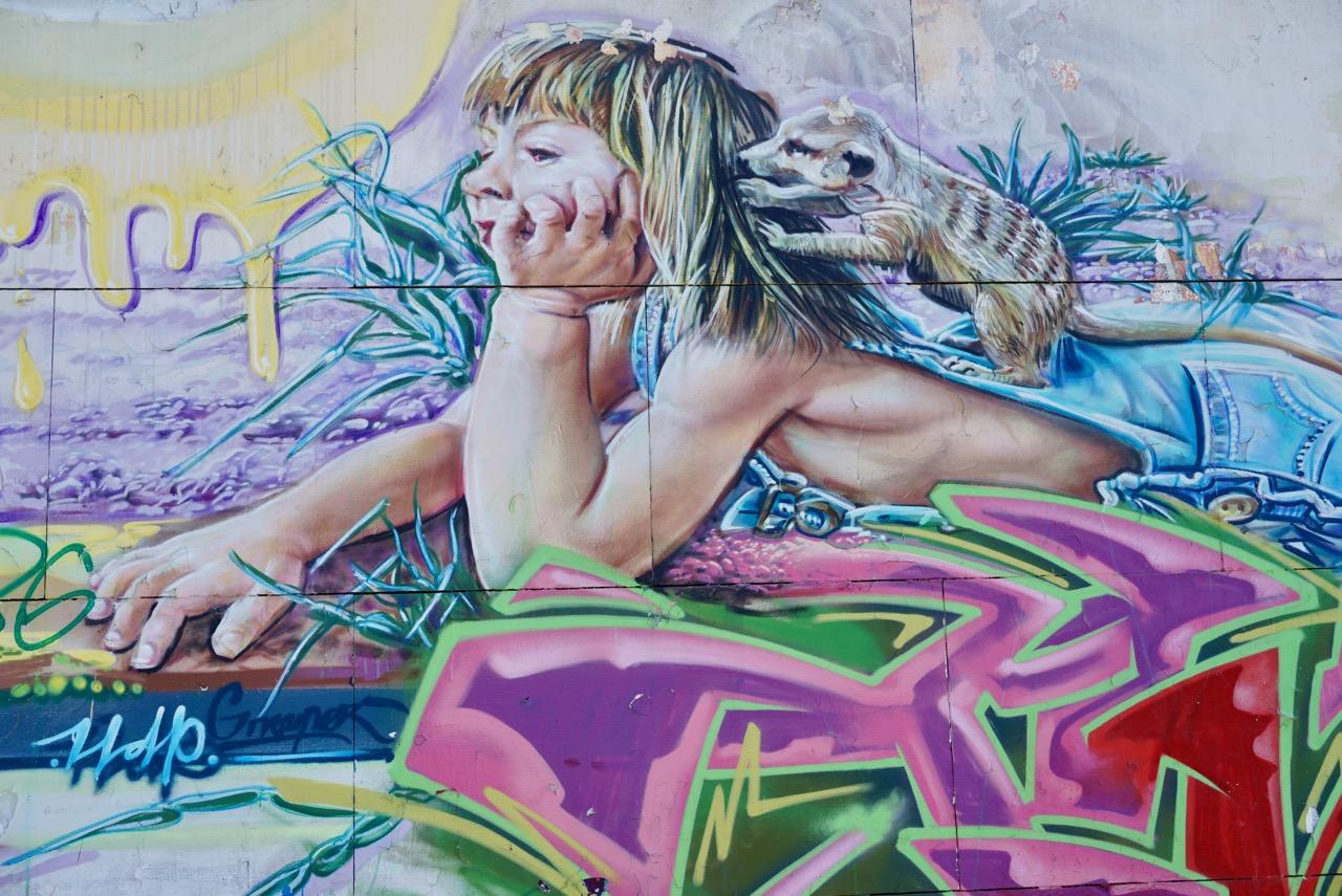 Street art, Seville, Spain