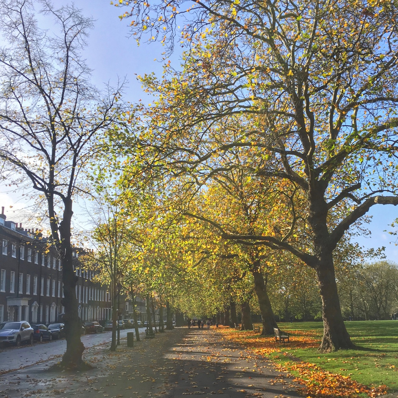 Autumn, London