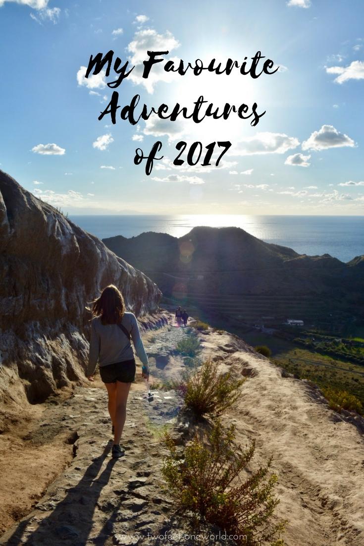 Favourite Adventures 2017