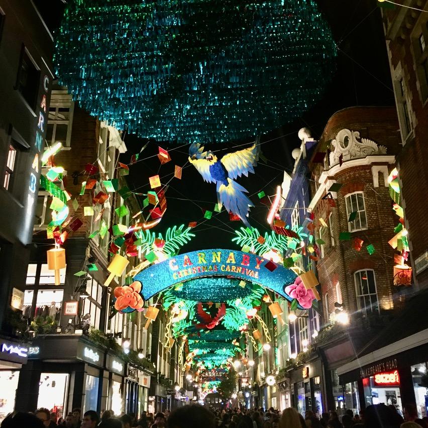 Carnaby Street Christmas Lights, London