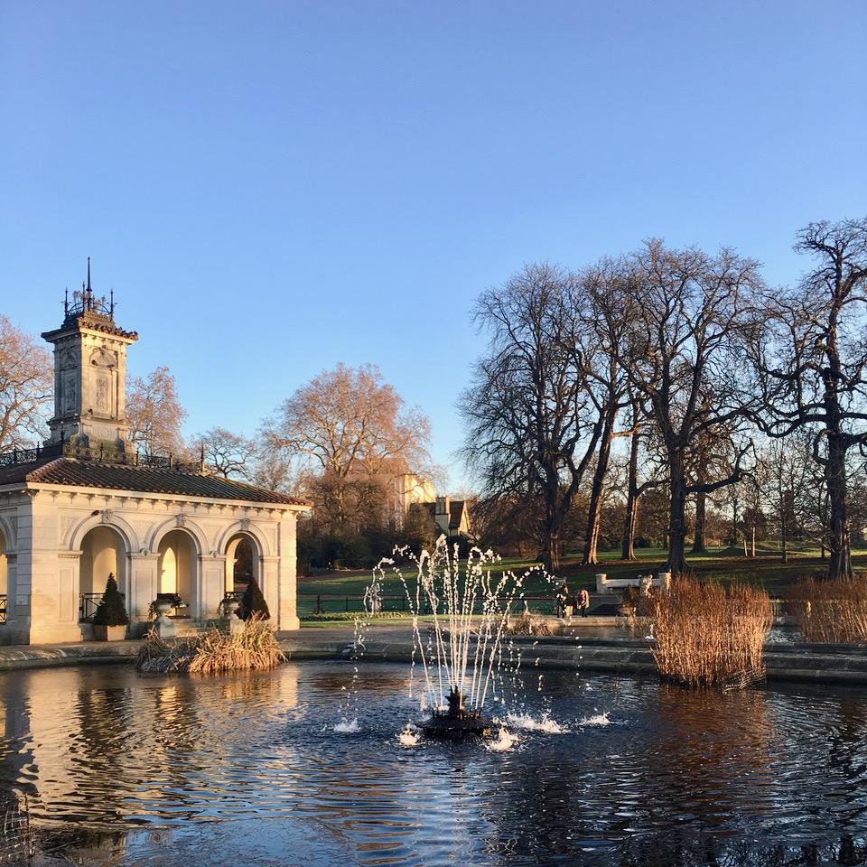 Italian Gardens, Hyde Park, London