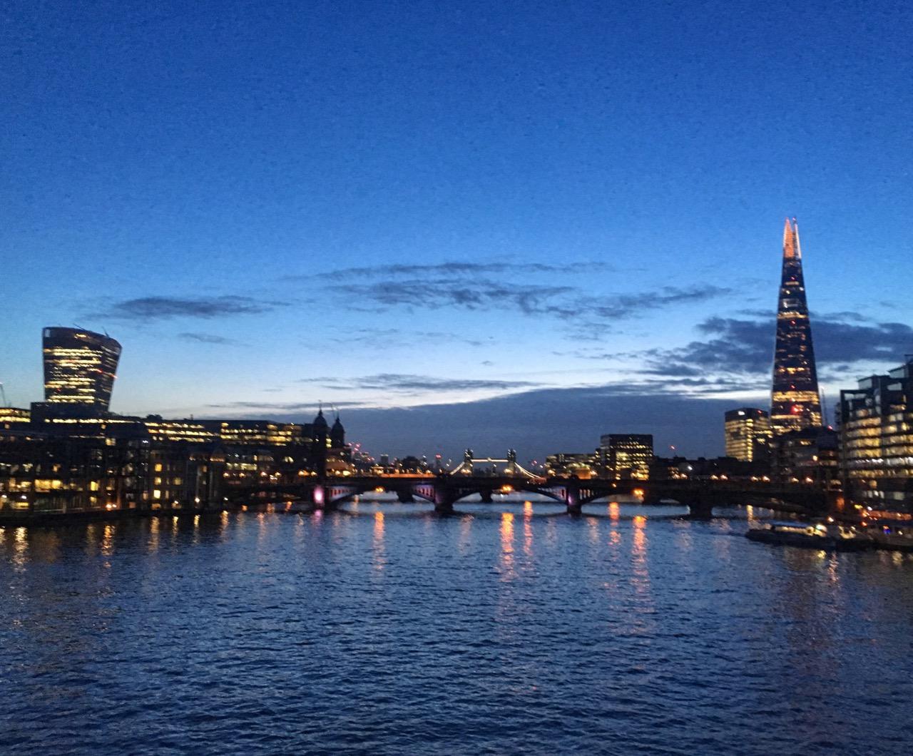 Sunrise, London
