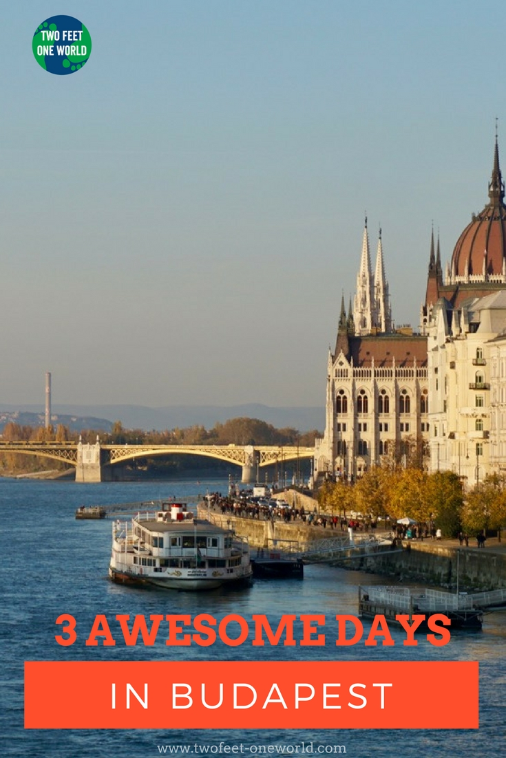Budapest fascinates me. Its history can be harsh, but there is such a buzz of energy now, from the bubbling hot springs to the vibrant ruin bars. I think three days is an ideal length of time to get a sense of this city of contrasts - here's my itinerary!