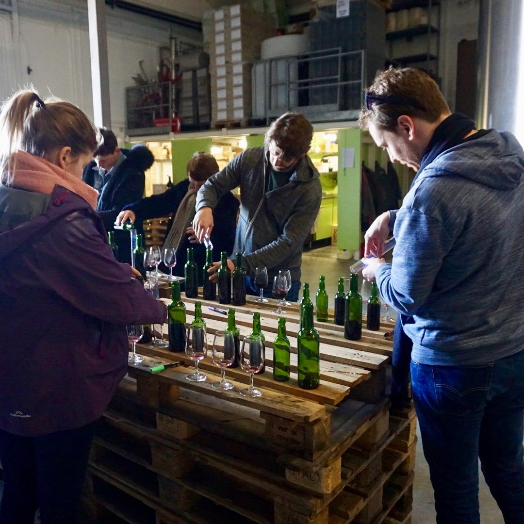 Wine Blending, Saint Emilion, Bordeaux, France